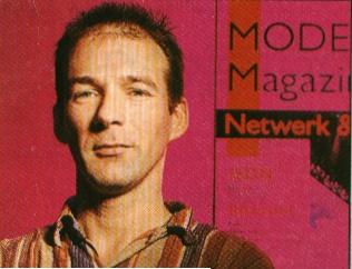 André Kalden - 1995 -Hoofdredacteur Modem Magazine, het eerste tijdschrift over datacommunicatie in Nederland.