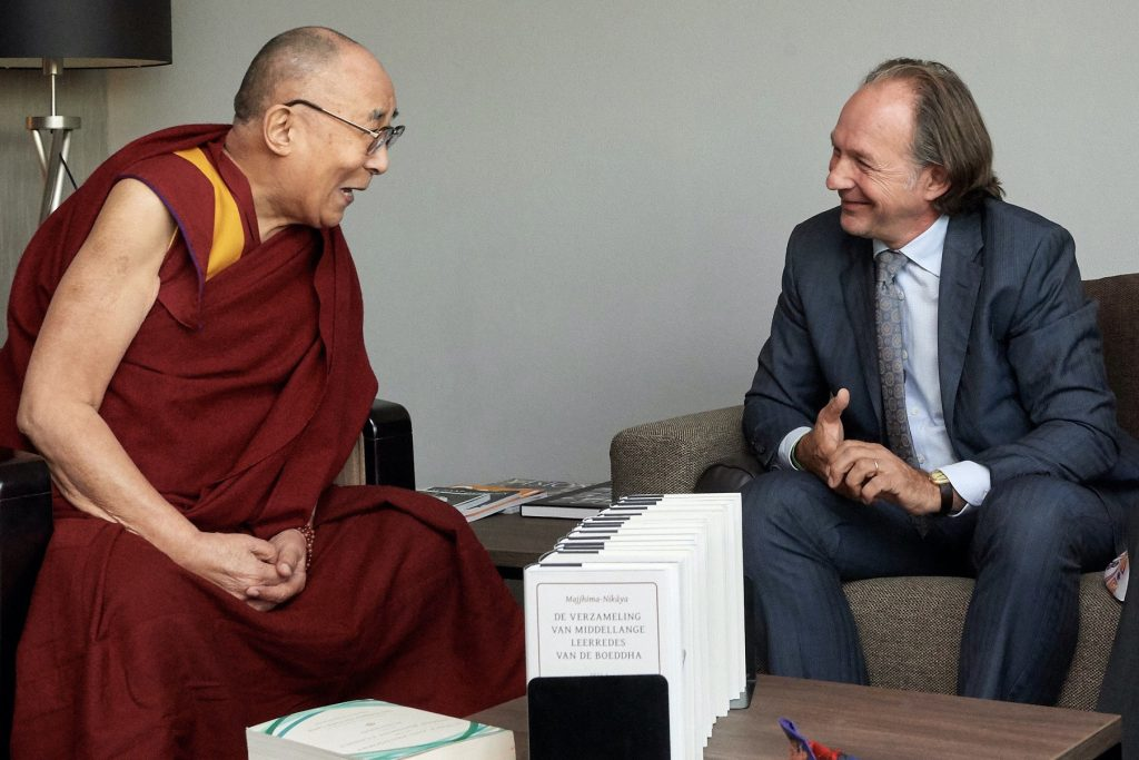 André Kalden in gesprek met Z.H. Dalai Lama XIV